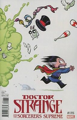 Doctor Strange And The Sorcerers Supreme #1 Skottie Young Variant NM