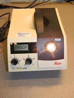 Leica (Schott) KL 1500 LCD - Halogen Cold Light Source for Microscopes