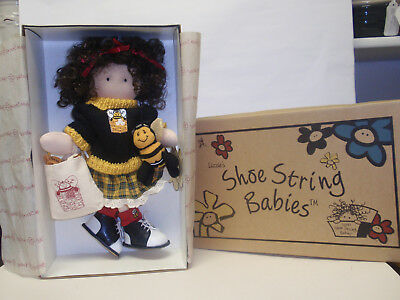 "Longaberger Exclusive,""LACEY BEE DOLL"" By LIZZIE'S SHOE STRING BABIES, NEW!!!"