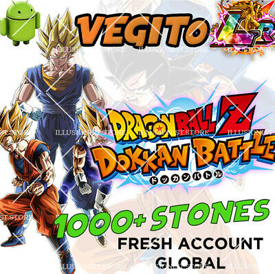 🌟Android - Dokkan Battle - Vegito LR with 2000+ Dragon Stones - Global