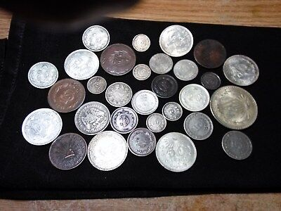 20 Coins Of Mexico***** Dealers Lot***** High Catalogue Value