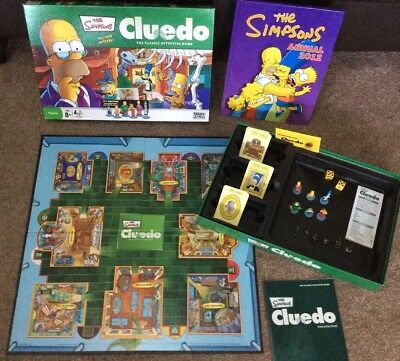The simpsons clue board game 3rd edition | #1876201537.