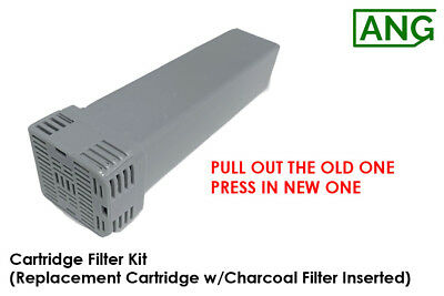 New Cartridge Filter Kit w/Charcoal Filter Installed for SC 1200 - Fast Shipping