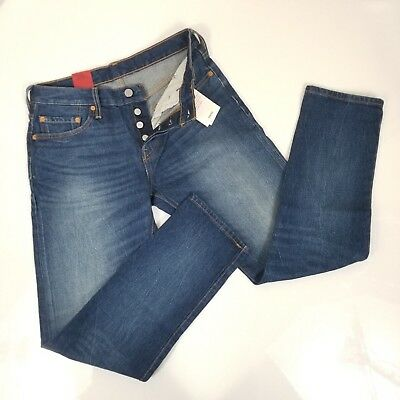 e0a070d7503 LEVI'S 501CT WOMEN'S High Rise Tapered Leg Button fly Sz 29x29 NWT ...