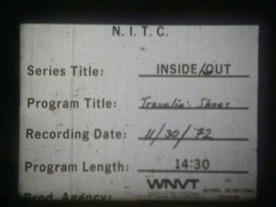 Travelin' Shoes (Inside/Out Series) 1972 16mm short film Documentary