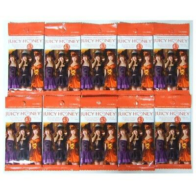 "MINT "" Juicy Honey vol.43 "" Unopened Sealed 10 Packs Shoko Takahashi Tsumugi Noa"
