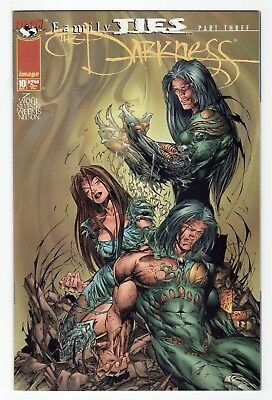 Top Cow Image Comics The Darkness (1996) #10 VF/NM or better Family Ties Part 3