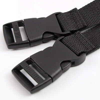 2Pcs Adjustable Nylon Travel Camping Luggage Bind Band Strap Accessories