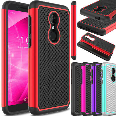 For Alcatel T-Mobile Revvl 2 Phone Case Hybrid Shockproof TPU Hard Armor Cover