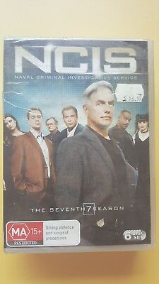 NCIS : Season 7 [ 2 DVD Set ] BRAND NEW & SEALED, Free Next Day Post from NSW