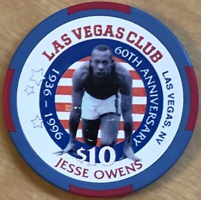 1996 Las Vegas Club $10 Casino Chip Las Vegas N8681 Rated E The 2018 Chip Rack