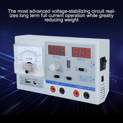 US Plug Adjustable Variable Digital Regulated Power Supply For Cell Phone Repair