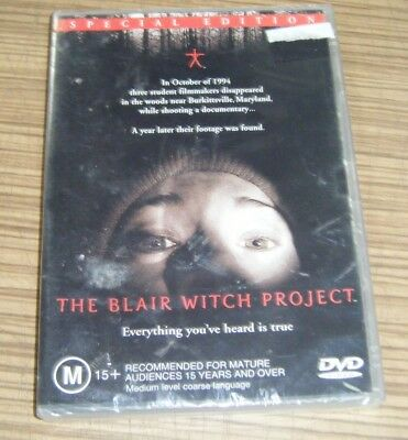 New Sealed DVD - The Blair Witch Project [A1]
