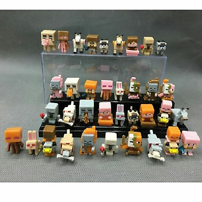 36 PCs/Set Fancy Minecraft Characters Cute Action Figure Toy Gifts For Kids