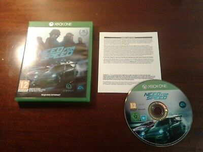 Xbox one need for Speed  the disc is excellent  UK version