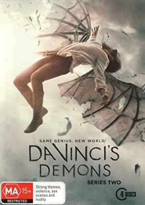 SAME-Da Vinci`S Demons Season 2 (UK IMPORT) DVD NEW