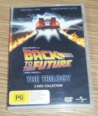 New Sealed DVD - Back to the Future: The Trilogy [A1]
