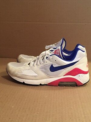 cheap for discount 1a1e1 85881 (2005) Nike Air Max 180 Classic 313106-141 Size 12 Ultramarine History of
