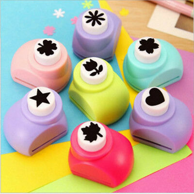 Mini DIY Craft Scrapbooking Cards Making Paper Shaper Hole Punch Cutter Tool