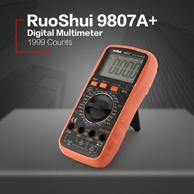 Electrical LCD Digital Multimeter Ohmmeter Multi OHM Tester AC DC Voltmeter TO