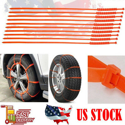 5Pcs/set Anti-skid Chains for Car Snow Mud Wheel Tyre Thickened Tire Tendon new
