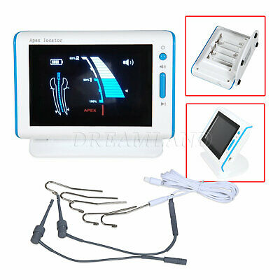 LCD Screen Dental Root Canal Finder Apex Locator Endodontic Endo Measure CMJ