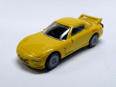 Cirkle K Sunks x INITIAL D Real Model Collection Mini Car MAZDA FD35 RX-7
