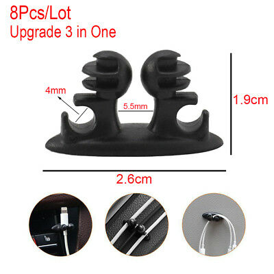 Accessories Fixed Clamp Multifunction Fastener  Car Wire Clip  USB Cable Holder