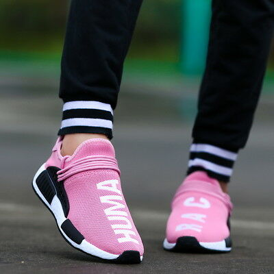 Women's Trainers Casual Sport Running Sneakers Tennis Shoes Breathable Pink US11