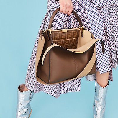a2a51b822296 BURBERRY WOMEN S  SMALL Horseferry  Check and Leather Crossbody Bag ...