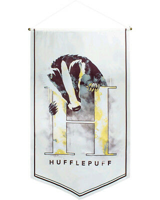 Harry Potter Hufflepuff Watercolour Banner One Size