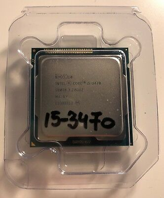 Intel Core i5-3470 Processor 3.2 GHz 6M Cache CPU up to 3.6 GHz SR0T8