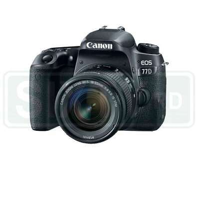 Genuino Canon EOS 77D Digital SLR Camera with 18-55mm Lens