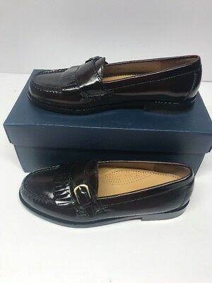 a934a6f26d6 Cole Haan Men s Pinch Buckle Loafer Burgundy 03518 Size 7.5D New! Dress  Shoes