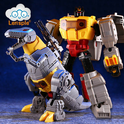 Assembled Dinosaur Model Transformation Robot Toys Grimlock G1 Action Figure US
