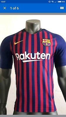 BARCELONA HOME SHIRT BRAND NEW WITH TAGS NEW SEASON 2018/2019 Men's Large