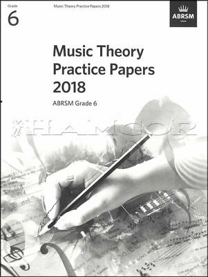 Music Theory Practice Papers 2018 ABRSM Grade 6 Past Exams SAME DAY DISPATCH