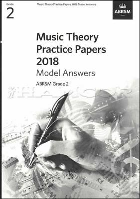 Music Theory Practice Papers 2018 Model Answers ABRSM Grade 2 SAME DAY DISPATCH