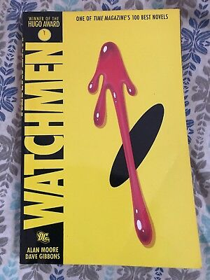 Watchmen by Alan Moore & Dave Gibbons Best Novels