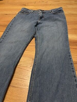 American Eagle Outfitters Women's Straight Leg Medium Wash Jeans Size 10P