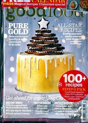 Bbc Good Food Magazine December 2018 Pack With Free 2019 Calendar
