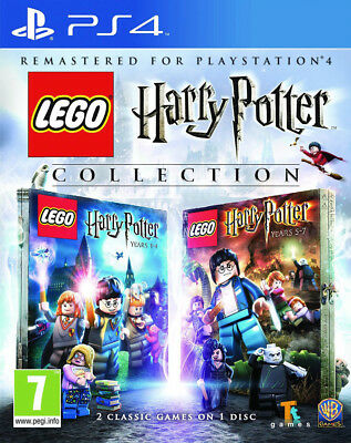 LEGO Harry Potter Collection Years 1-4 & Years 5-7 | PlayStation 4 PS4 New (1)