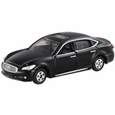 Takara Tomy Tomica BP008 Nissan CIMA Black Scale 1/68 Diecast Toy Car Japan