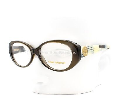 f24e6e1e66 TORY BURCH 2023 1078 Eyeglasses Optical Frames Glasses Olive Green Horn ~  51mm