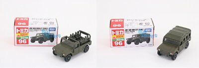 Takara Tomy Tomica N0.96  JSDF High Mobility Vehicle 1/70 2X Diecast Car SET