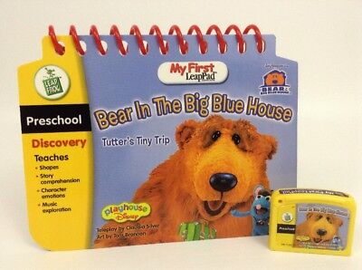 My First LeapPad Leap Frog Disney Bear in the Big Blue House Book & Cartridge