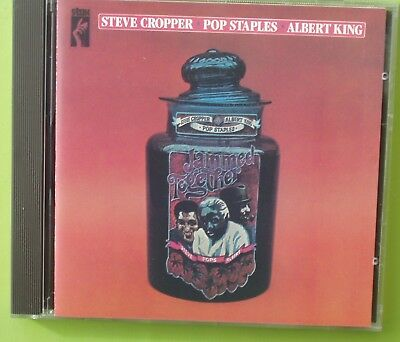 Steve CROPPER, Pop STAPLES Albert KING  :   Jammed together