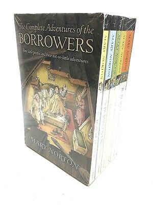 New The Borrowers Box Boxed Set Mary Norton Lot 5 5999 Picclick