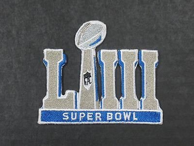2019 Super Bowl LIII 53 Embroidered Patch Jersey Patch Iron-On