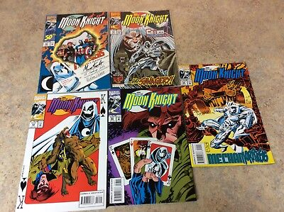 Marc Spector: Moon Knight #50,51,52,53,54  Lot Of 5 Nm Comic 1993  Marvel